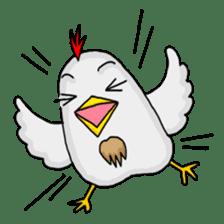 Mr. Chicken sticker #672477