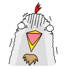 Mr. Chicken sticker #672479