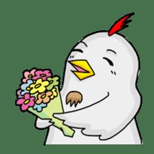Mr. Chicken sticker #672489