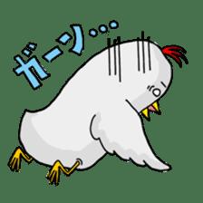 Mr. Chicken sticker #672490