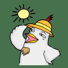 Mr. Chicken sticker #672492