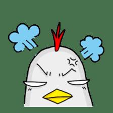 Mr. Chicken sticker #672495