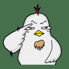 Mr. Chicken sticker #672496