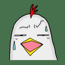 Mr. Chicken sticker #672498