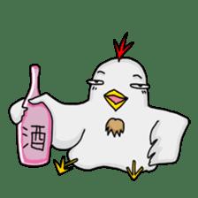 Mr. Chicken sticker #672500