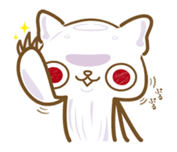 Jellyfish  Cat sticker #673187