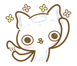 Jellyfish  Cat sticker #673194