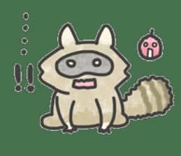 Raccoon dog TANUTAROU sticker #673436