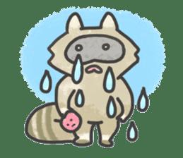 Raccoon dog TANUTAROU sticker #673441