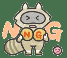 Raccoon dog TANUTAROU sticker #673444
