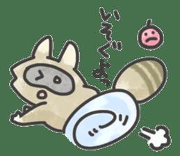 Raccoon dog TANUTAROU sticker #673448