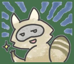 Raccoon dog TANUTAROU sticker #673461