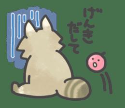 Raccoon dog TANUTAROU sticker #673462