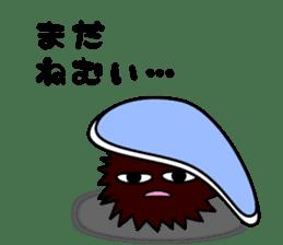 echinus and jellyfish sticker #673469