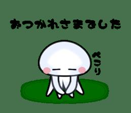 echinus and jellyfish sticker #673474
