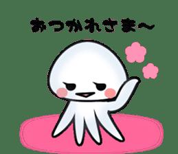 echinus and jellyfish sticker #673475