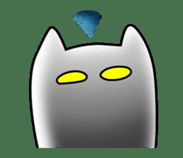 Black cat Nyarasu sticker #673599