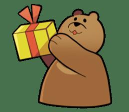 Kumanosuke in the forest sticker #675548