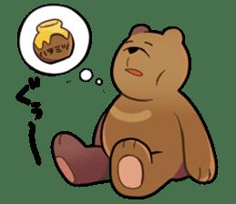 Kumanosuke in the forest sticker #675551