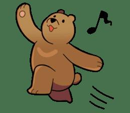 Kumanosuke in the forest sticker #675565