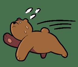 Kumanosuke in the forest sticker #675572