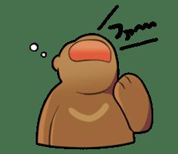 Kumanosuke in the forest sticker #675575