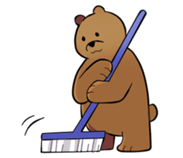 Kumanosuke in the forest sticker #675583