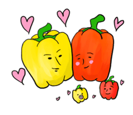 vegetable stamp ! sticker #676143