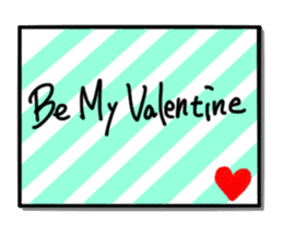 St. Valentine's day sticker #678159
