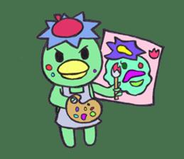 PomPori Kappa sticker #679768