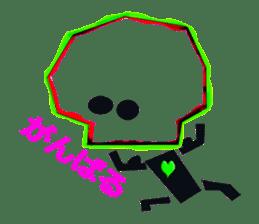 Squelette kun sticker #679794