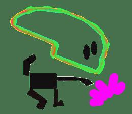 Squelette kun sticker #679820