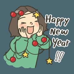 มุนินฺ และ คุณปลาวาฬ สวัสดีปีใหม่