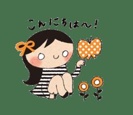 """hokkori"" Hand drawing illustrations sticker #680507"