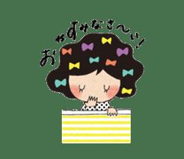 """hokkori"" Hand drawing illustrations sticker #680509"
