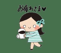 """hokkori"" Hand drawing illustrations sticker #680510"
