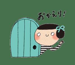 """hokkori"" Hand drawing illustrations sticker #680513"