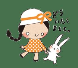 """hokkori"" Hand drawing illustrations sticker #680515"