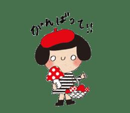 """hokkori"" Hand drawing illustrations sticker #680519"