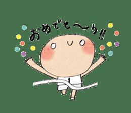 """hokkori"" Hand drawing illustrations sticker #680520"