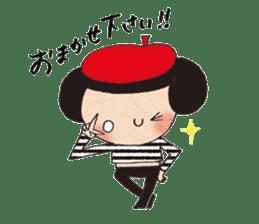 """hokkori"" Hand drawing illustrations sticker #680525"
