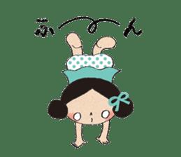 """hokkori"" Hand drawing illustrations sticker #680529"