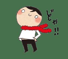 """hokkori"" Hand drawing illustrations sticker #680530"