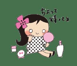 """hokkori"" Hand drawing illustrations sticker #680535"