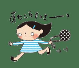 """hokkori"" Hand drawing illustrations sticker #680538"