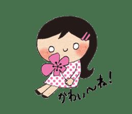 """hokkori"" Hand drawing illustrations sticker #680542"