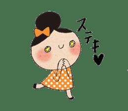 """hokkori"" Hand drawing illustrations sticker #680543"