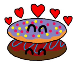 Sweet Donuts! sticker #681043