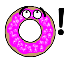 Sweet Donuts! sticker #681058