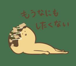 Spiritless Takoyaki sticker #682187